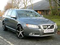 2009 09 VOLVO V70 2.4 D5 R-Design (Premium Pack) Auto AWD 5dr WITH FSH+BIG SPEC