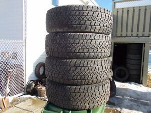 p215/55/17 inch Winter Tires / Chev Rims / LOTS OF TREAD