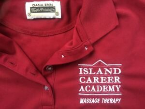 ICA massage therapy public clinic shirt