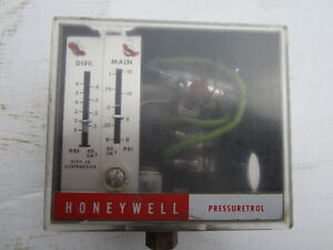 DeCloet/Kelsey/Honeywell pressuretrol 15 psi