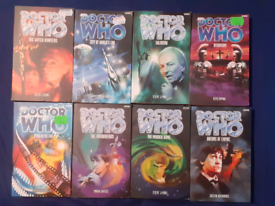 FOR SALE Doctor Who Past Doctors novels. FOR THE SERIOUS COLLECTOR