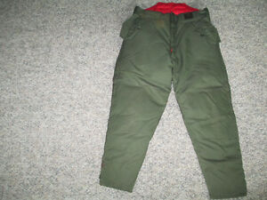 INSULATED HUNTING PANTS-SIZE 34-36