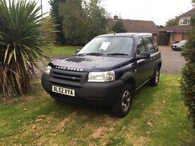 Land Rover freelander 69,000 miles. Needs to go!!