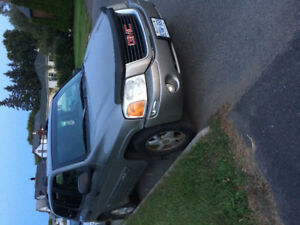 2002 GMC Envoy Sle SAFTIED Awd need gone
