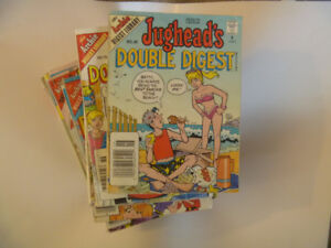 pile of 15 ARCHIE DOUBLE digests