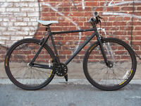 Track bike - fixed gear - Fixie - Single speed