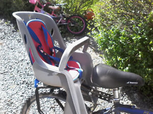 Toddler bike seat