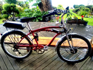 "Norco Cruiser ""Sekine"" converted Electric Bike"