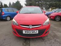 2013 Vauxhall Astra 2.0 CDTi ecoFLEX 16v Tech Line 5dr (start/stop)