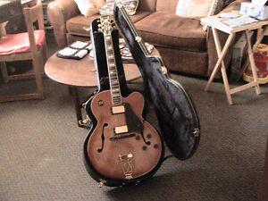 Samick HJ650 with Fender Amp