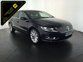 2013 63 VOLKSWAGEN CC GT BLUEMOTION TDI AUTO 1 OWNER SERVICE HISTORY FINANCE PX