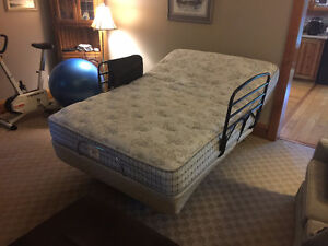 Mobility Aids: Adjustable bed, bariatric commode, walker