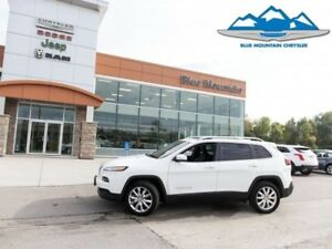 2017 Jeep Cherokee Limited  JEEP DEALER CERTIFIED/ETESTED