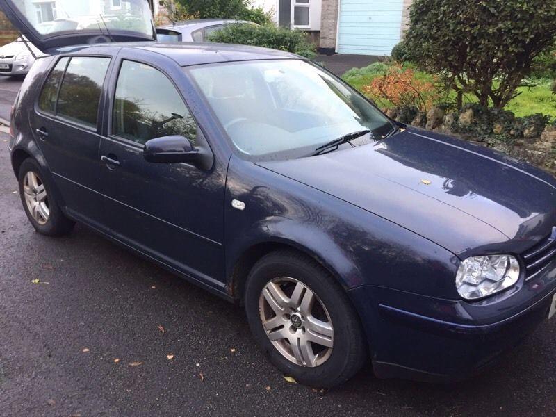 Volkswagen Golf 2.0 gti, 12 months mot 2001