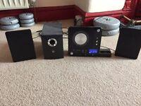 Iwantit mini HiFi iPod docking station with sub woofer