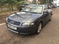 2004 Audi A4 Cabriolet 1.8T CVT Sport Great Spec Lovely Car