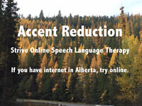 Accent reduction in Grande Prairie and northern Alberta