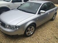 AUDI A4 1.9TDI SE, silver, air con, electric pack, Silver, Manual, Diesel, 2002