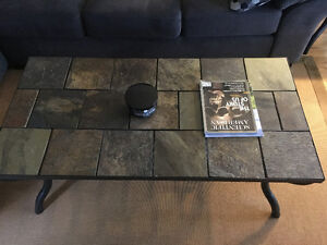 Slate Tile Coffee and End Tables