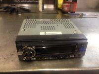 Clarion headunit stereo aux input