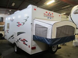 2008 Trail Lite Crossover TLX-180T Hybrid Travel Trailer London Ontario image 2