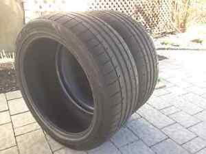 2 pneus Khumo Ecsta LE Sport 255/40/19