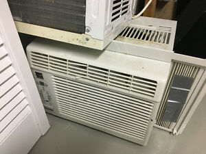 Central air units and microwave