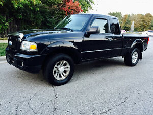 2007 FORD RANGER SPORT EXTENDED CAB 4X4, RUNS EXCELLENT MUST SEE