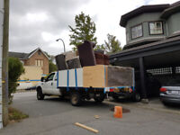 CHEAP JUNK REMOVAL - FREE TODAY - VANCOUVER - BURNABY - CALL NOW