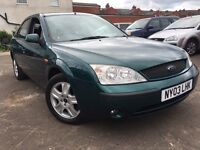 Ford Mondeo 2.0 GHIA + LOW MILES + 12 MONTHS MOT