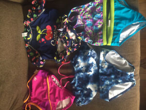 Girls bathing suits size 6X & 7
