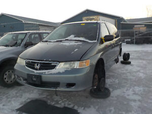 2002 Honda Odyssey Now Available At Kenny U-Pull Cornwall