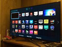 "Samsung 55"" Smart LED 3D Tv wi-fi Netflix YouTube warranty free delivery"