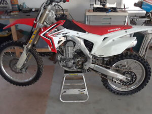 2013 Crf450 good clean bike with amazing sss suspension