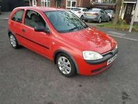 Vauxhall corsa club 1.0 12v full year mot cheap insurance