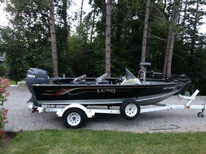 "2000 Lund Mr Pike 17'4"" with Yamaha 100HP 4 stroke $13,900"