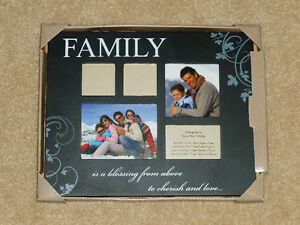 FAMILY - Photo Frame - NEW IN BOX