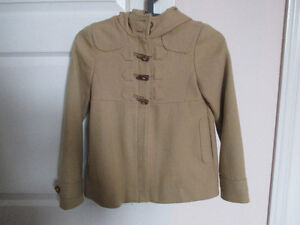 GAP Girl's Winter Coat with hood, size 8