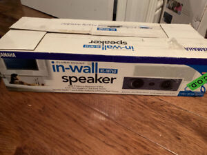Yamaha in-wall speaker NS-IW760 brand new open box