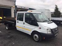Ford Transit d/cab tipper 2014 14 Reg euro 5