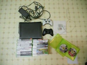 Xbox 360 and 29 Games + accessories