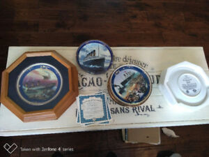Titanic complete collector plate set