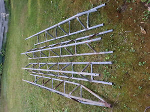 About 36 ft of aluminum antenna tower. $200 OBO
