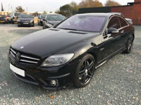 2009 MERCEDES CL 63 AMG 6.2 COUPE GOOD / BAD CREDIT CAR FINANCE AVAILABLE