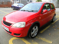 VAUXHALL CORSA 1.4i 2004 SRi ONLY £995 COMPLETE WITH M.O.T HPI CLEAR