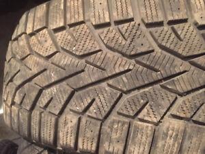 4 pneus hiver 225/45r17