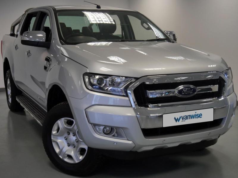 2016 ford ranger limited diesel silver auto in maidstone. Black Bedroom Furniture Sets. Home Design Ideas