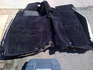 1990+ Nissan 300ZX Z32 black interior carpeting for 2 seater