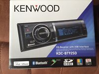 Kenwood KDC BT92SD Bluetooth IPod control CD Head Unit