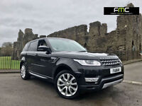 2014 Land Rover Range Rover Sport 3.0SDV6 292ps 4X4 Auto HSE **7 Seater** Black